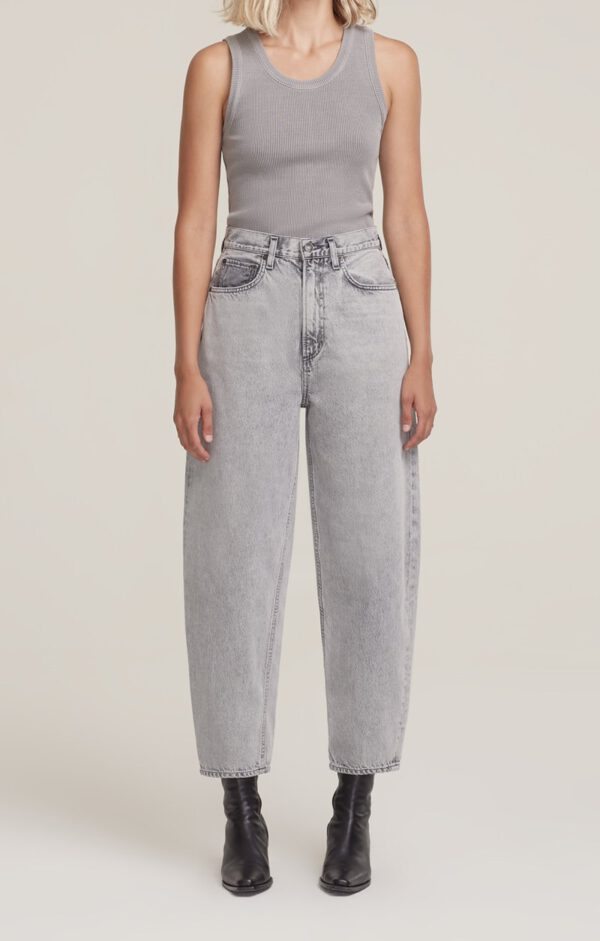 Balloon Jeans, Agolde Grey Wash