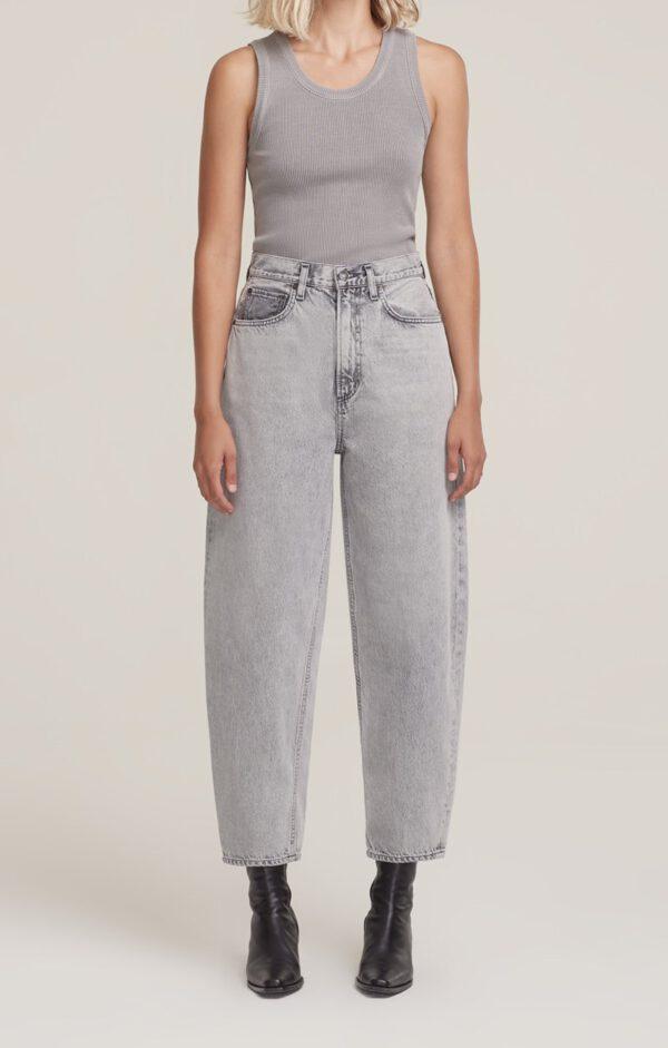 Balloon Jeans, Agolde Grey Wash