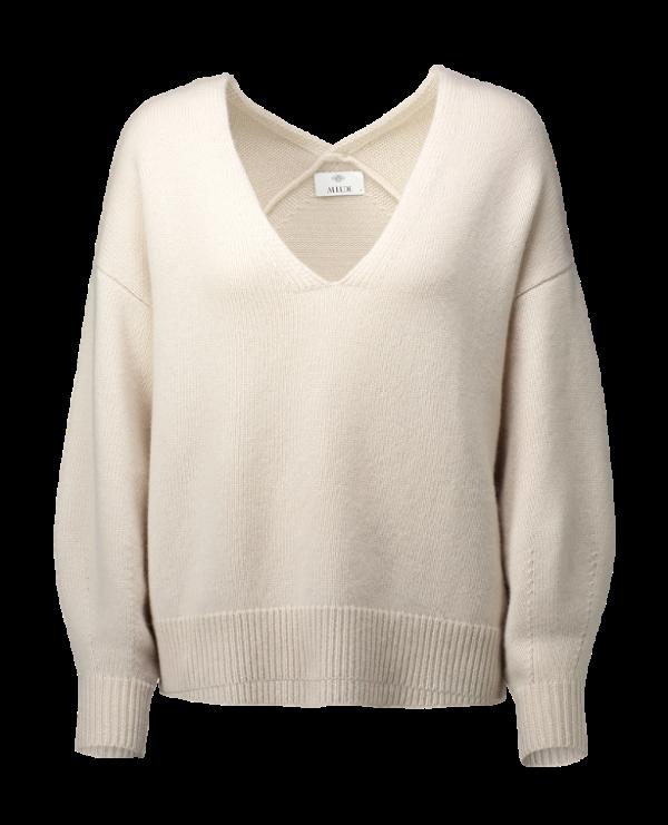 Cashmere Pullover, Allude, offwhite