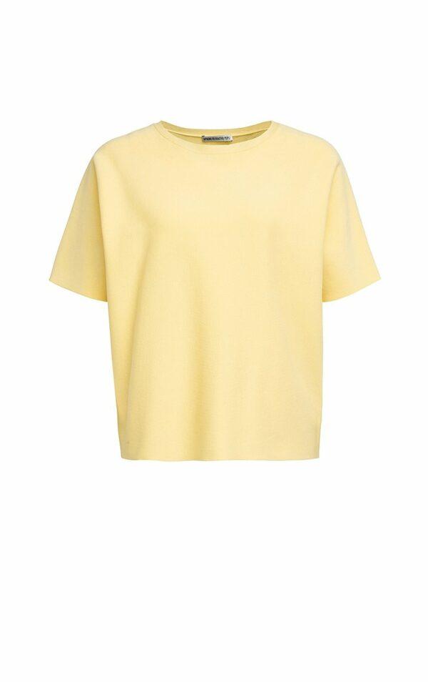 Halbarm Pullover, Drykorn, Buttergelb