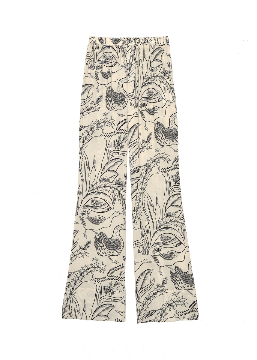 Aeron, Patch flare pajama pants