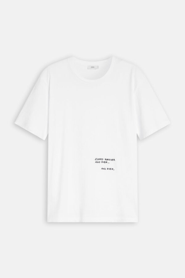 T-Shirt, Quote, Closed