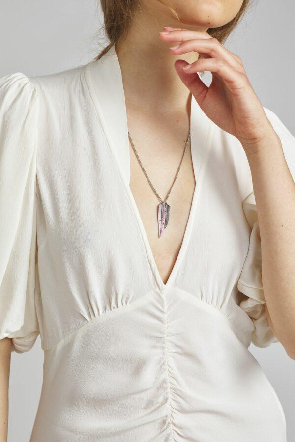 Halskette, Feather, Isabel Marant