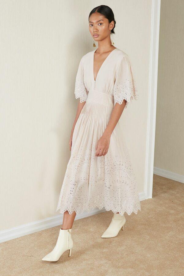 Kleid, Elise, Magali Pascal, Boho dress, Sommerkleid