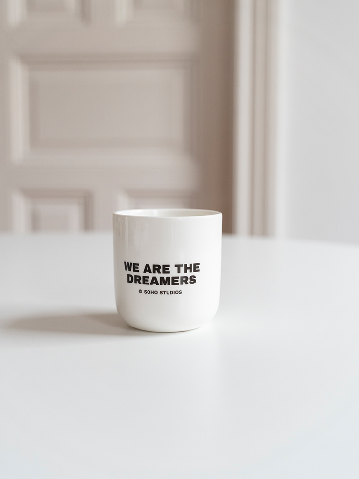 Cup, Hey Soho, We are the dreamers, Soho Studios