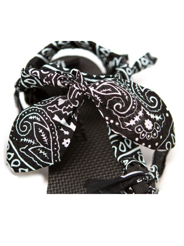 Trekky black bandana, Arizona Love, Sandals,