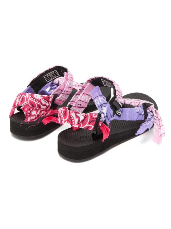 Trekky mix pink bandana, Sandalen, Arizona Love, Sommerschuhe