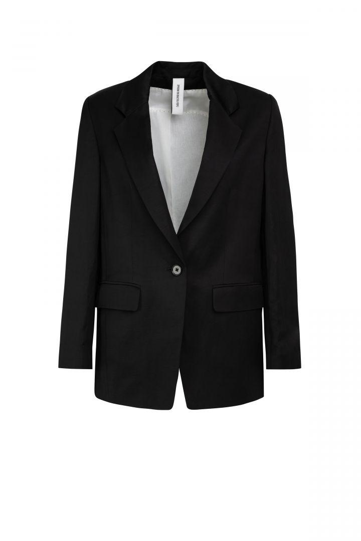 Boyfriend blazer, Black, Drykorn, oversized
