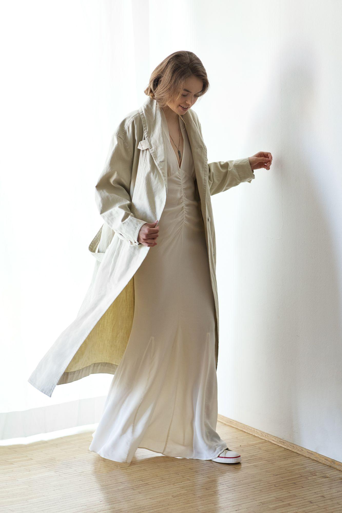 Kleid, Gown, ByTimo, Sommerkleid, White,