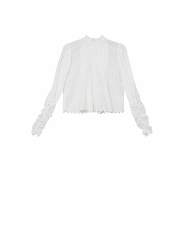 Broderie Anglaise, By Timo, Boho Blouse,