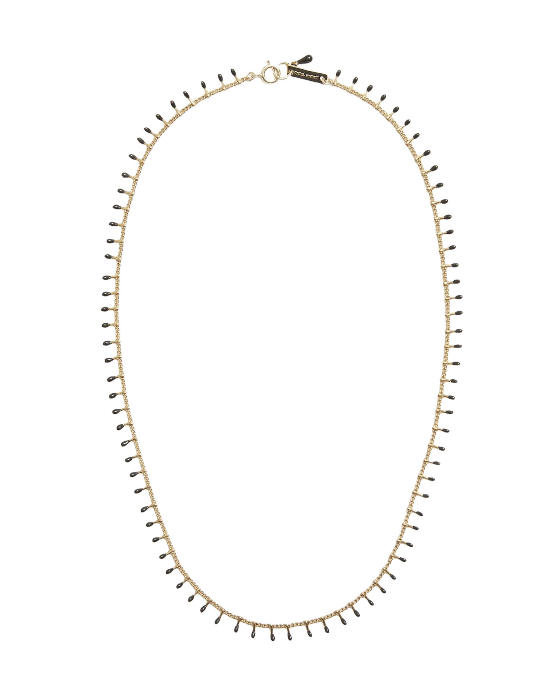Halskette, Casablanca, black, Isabel Marant, Schmuck