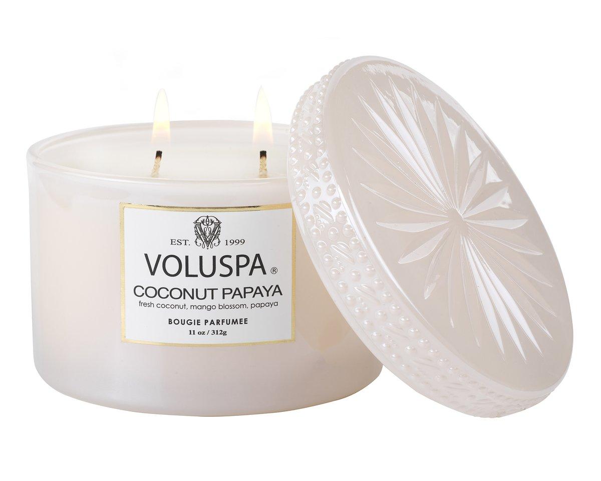 Voluspa, Coconut Papaya, Duftkerze