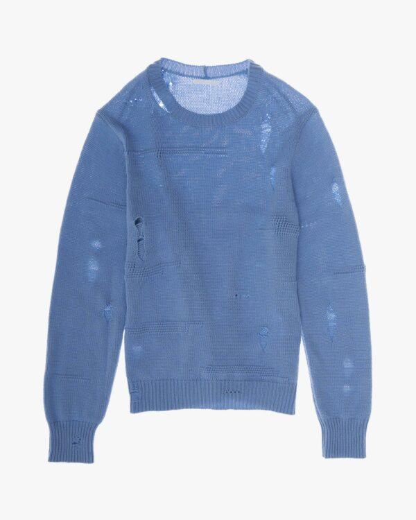 L01HW709, Helmut Lang, Pullover Distressed