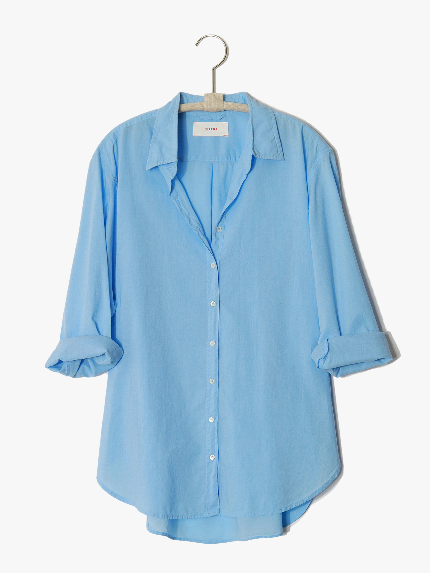 Xirena, Beau Shirt, CruiseBlue
