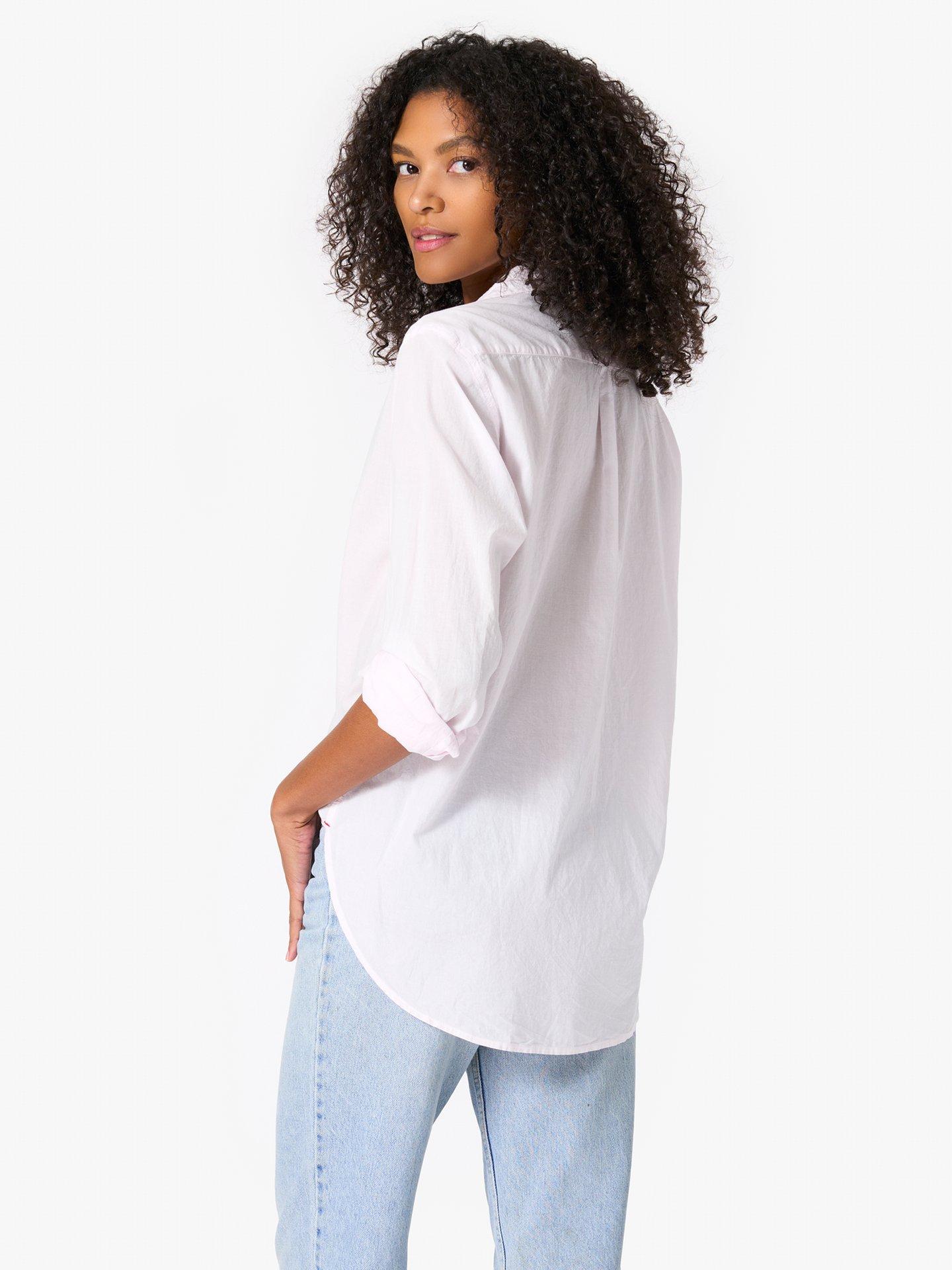 Xirena, Beau, Oversize Shirt, Lilac Wash