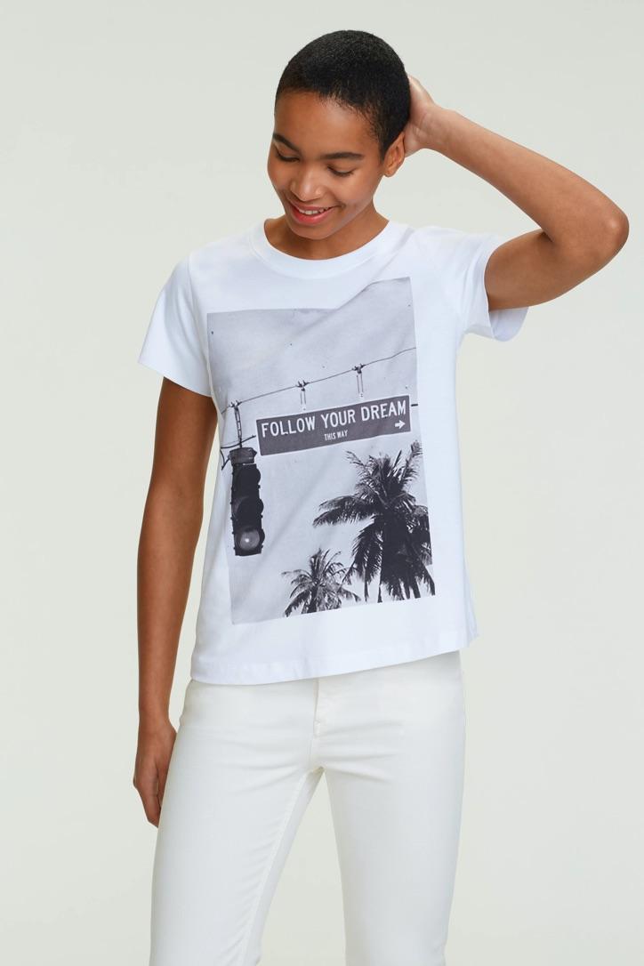 Dorothee Schumacher, T-Shirt, Follow your dreams
