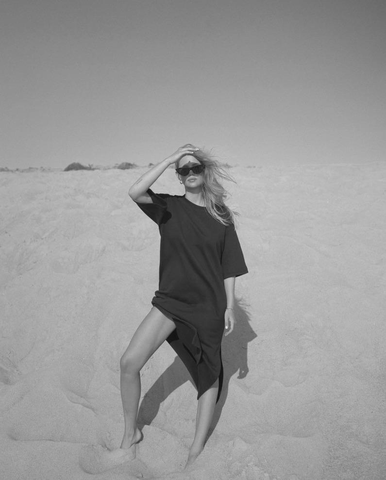 Sweatshirt dress, Soho Studios, Hey Soho, Minimal Chic