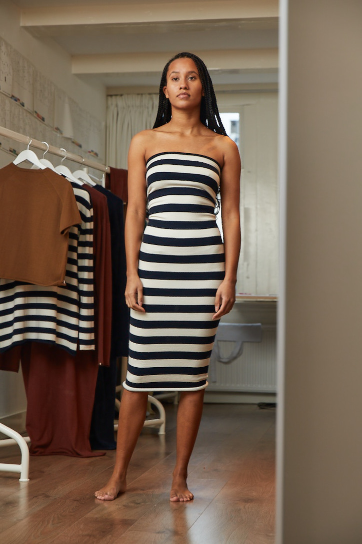 Tube Long, Extreme Cashmere, Knitted dress