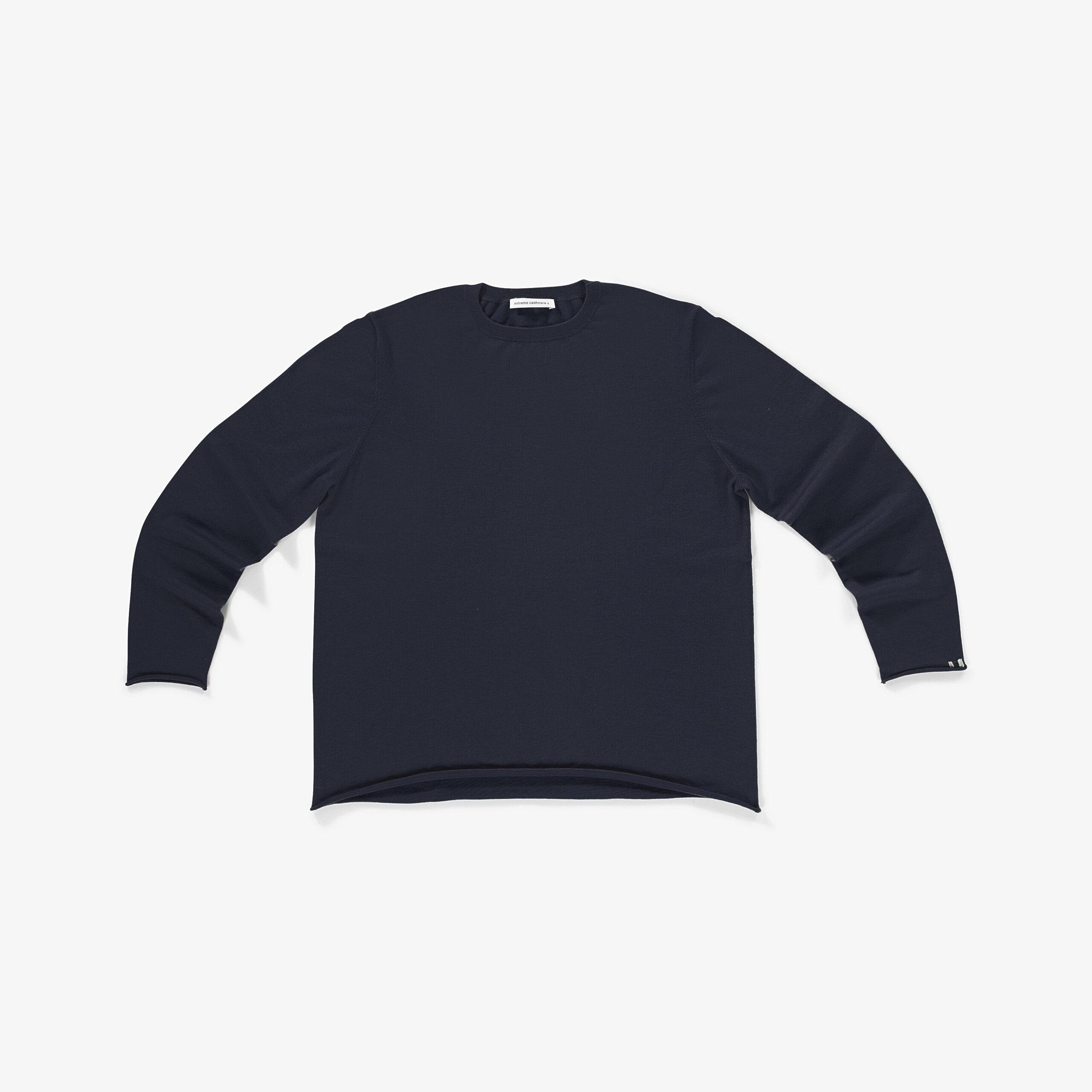 Pullover, Hein, Extreme Cashmere, Jumper, Navy