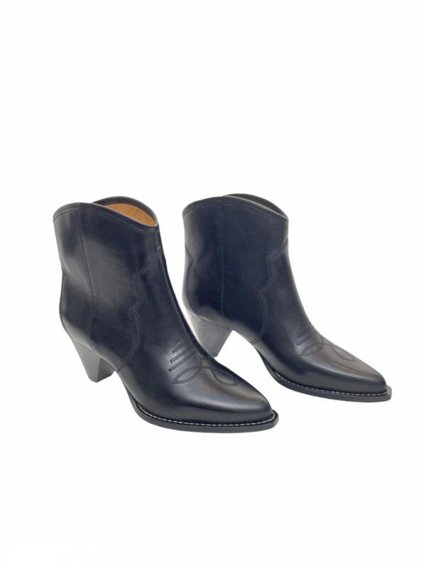 Boots, Darizo, Isabel Marant, Feminine santia, Block Heel