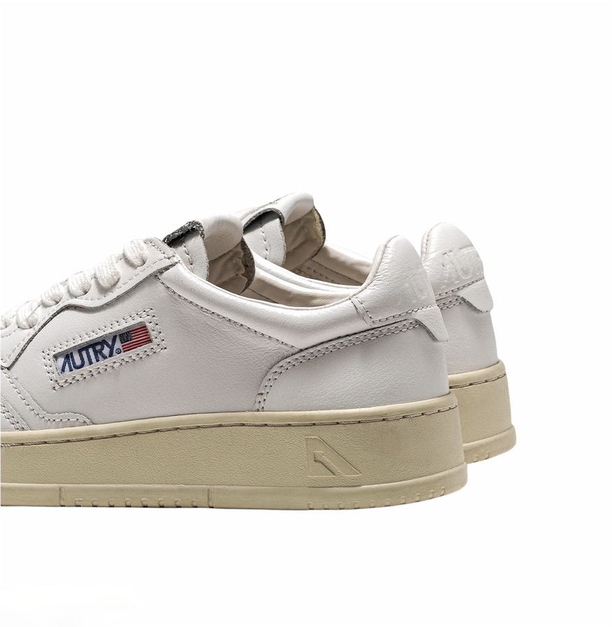 AUTRY, MEDALIST, LOW, SNEAKERS , All White