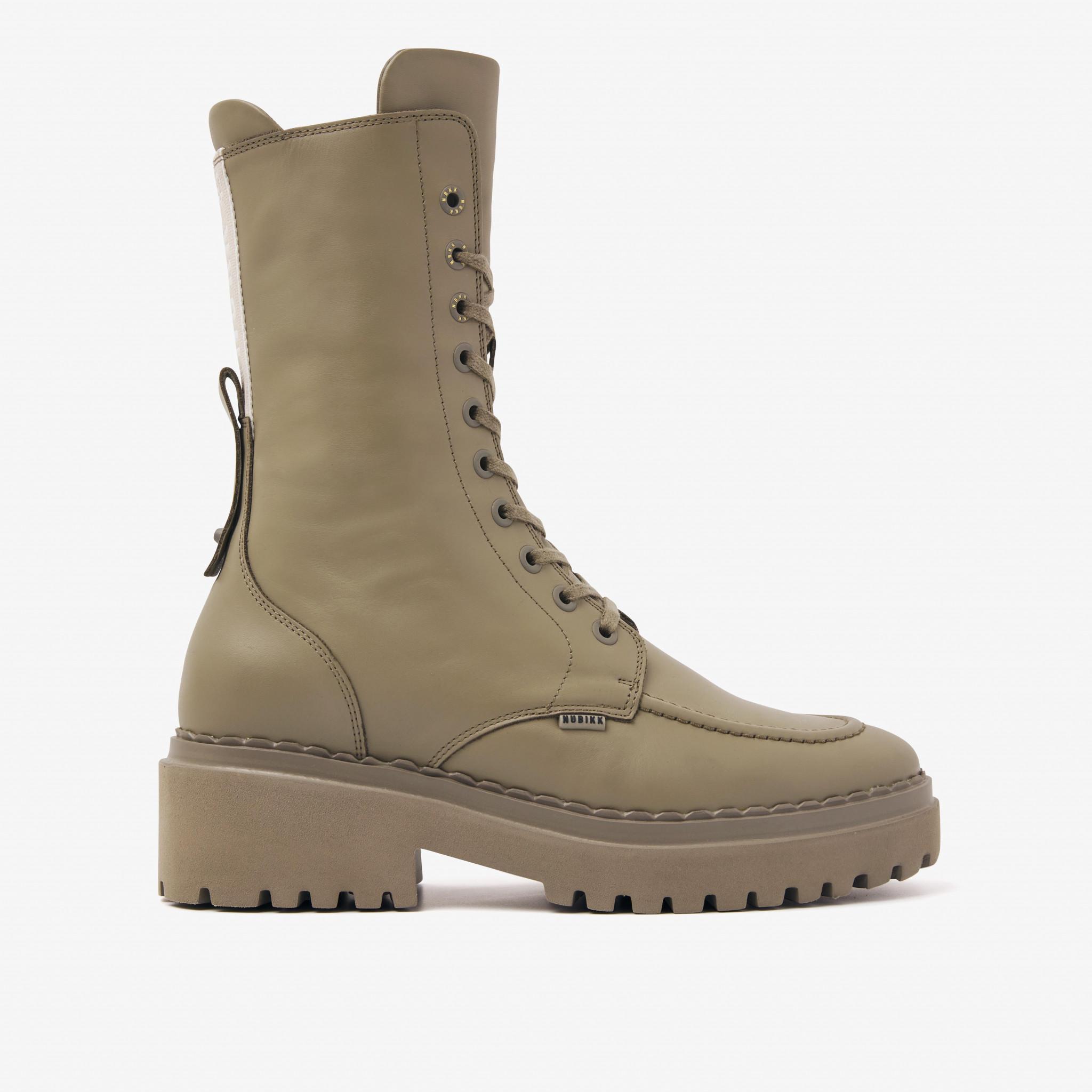 fae-aubine,Combat Boots, Nubikk, Boots