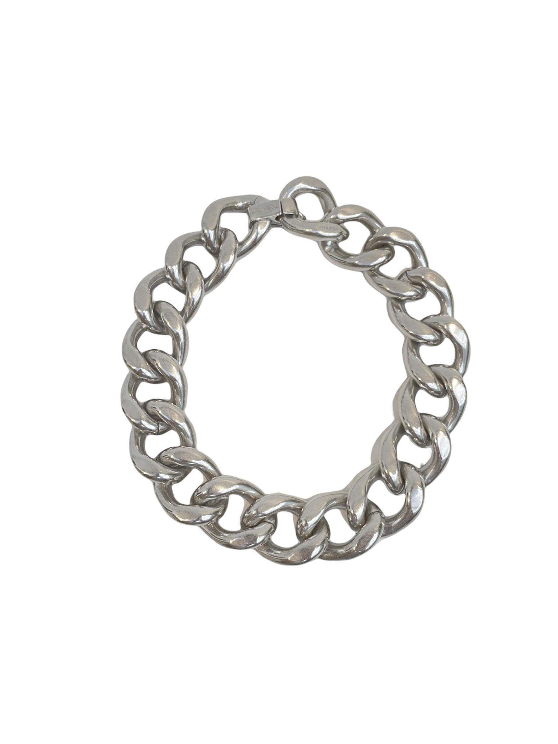 Halskette, Choker, Links, Isabel Marant, Silver