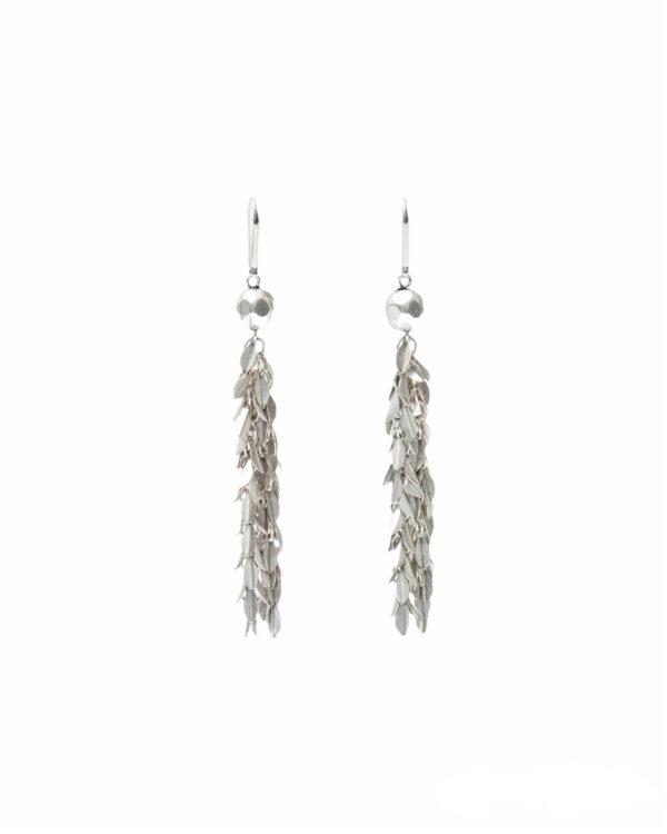 Ohrringe, Leafy, Silver, Jewellery, Isabel Marant