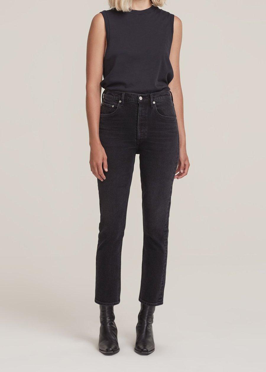 Jeans, Riley, Agolde, Washed Black