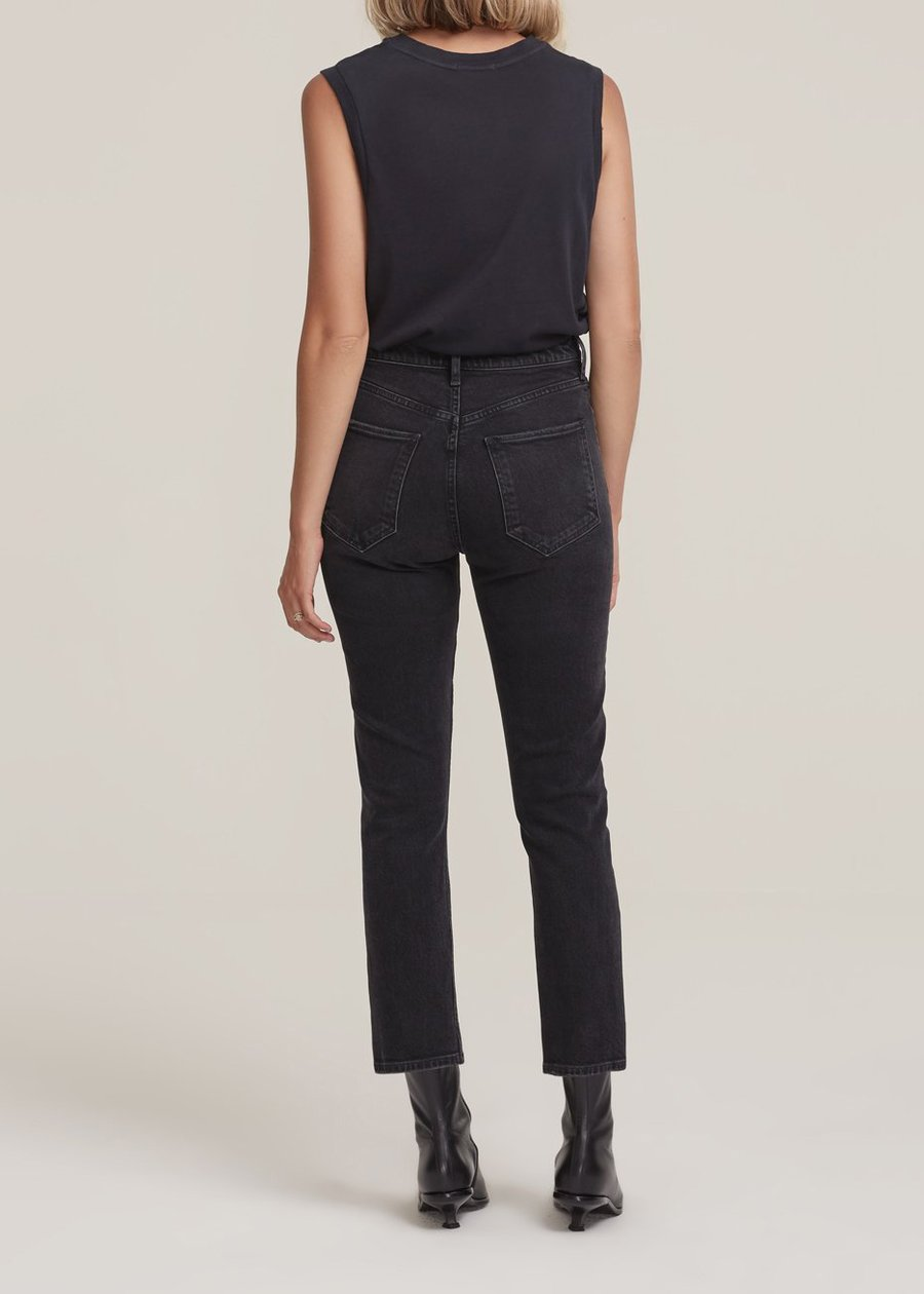 A056-1286,Jeans, Riley, Agolde, Washed Black
