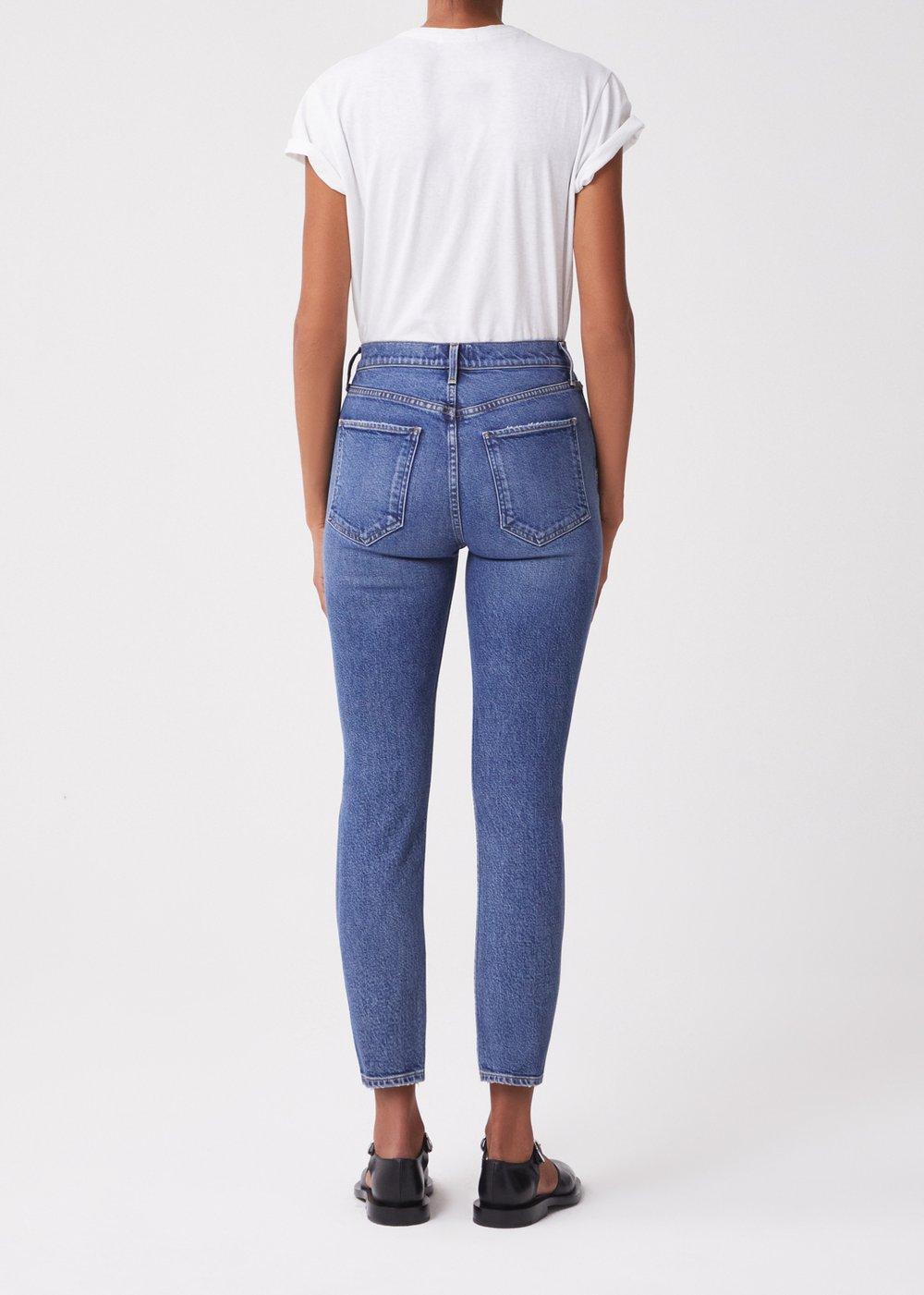 A056D-1255, Jeans, Riley, Medium Indigo, AGOLDE