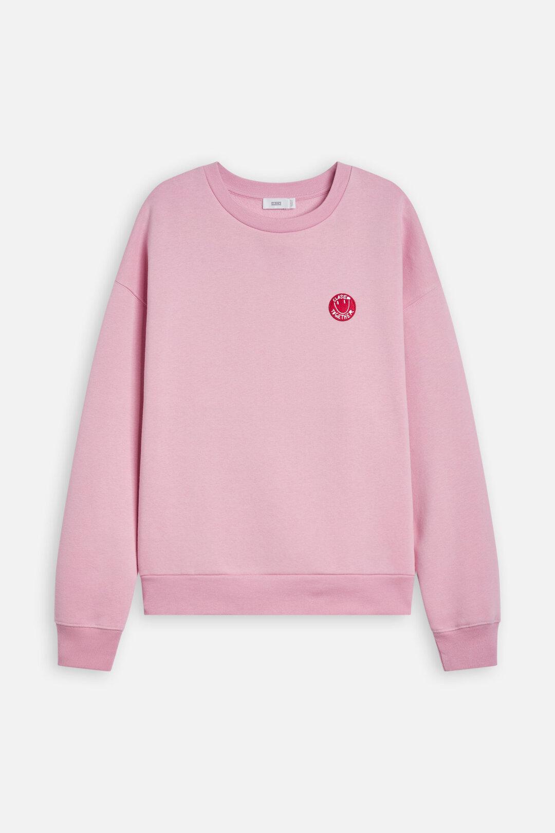 Sweatshirt, closed together, CLOSED