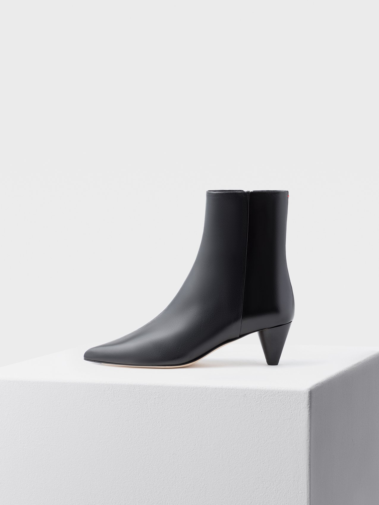 Carly, Ankle Boot, Aeyde, Nappa, Black