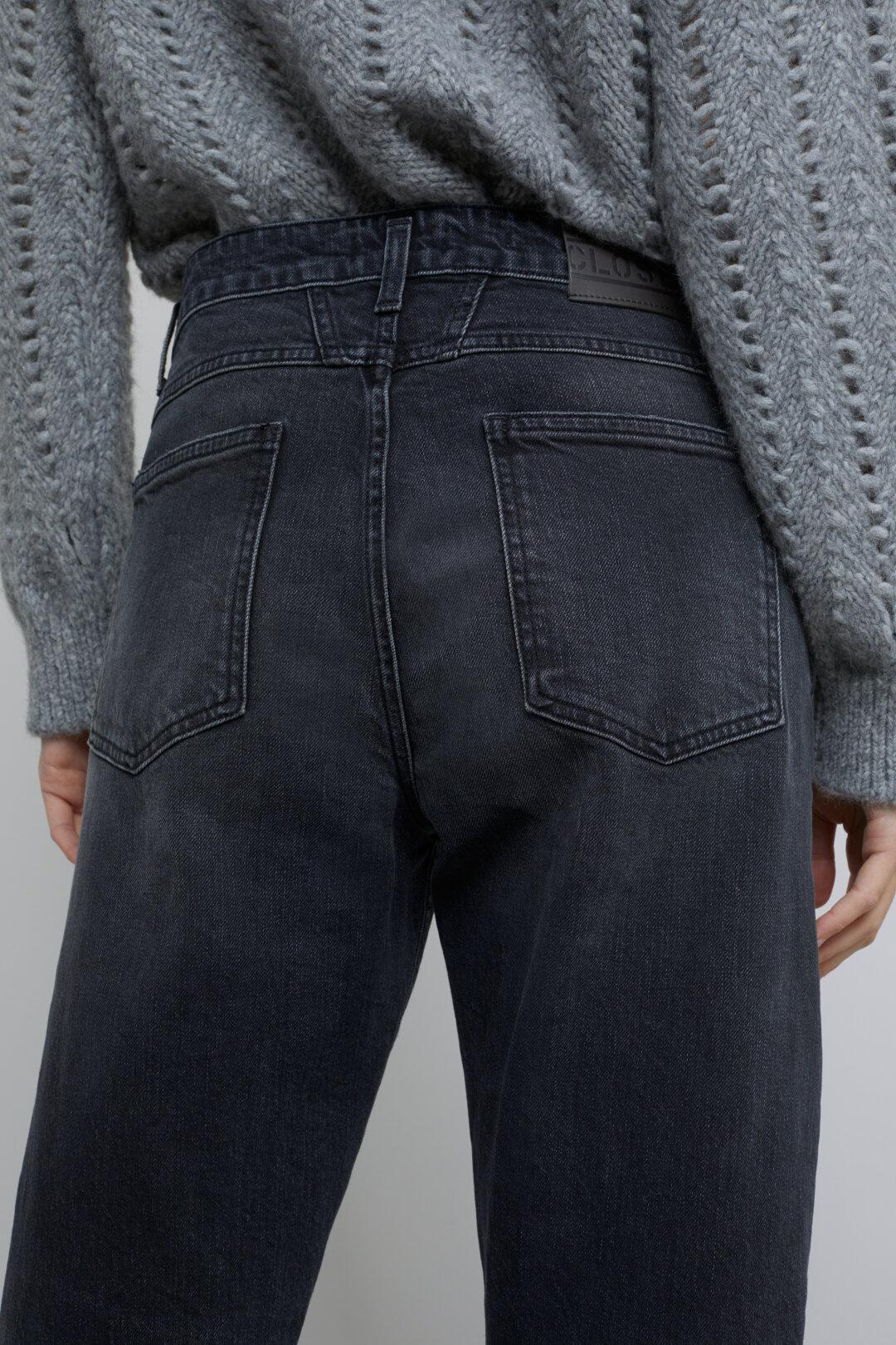 C91220, Jeans, X-lent, black denim, Closed