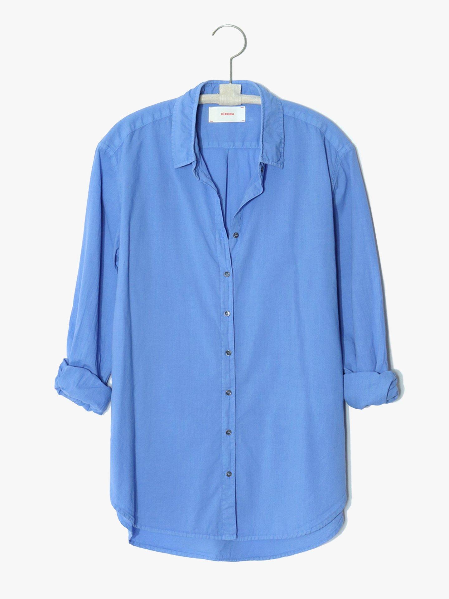 Bluse, Beau, Xirena, Oversized Shirt, X17511, AllBlu